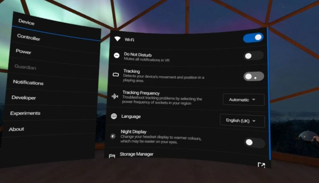 How to disable Guardian Tracking on the Oculus Quest